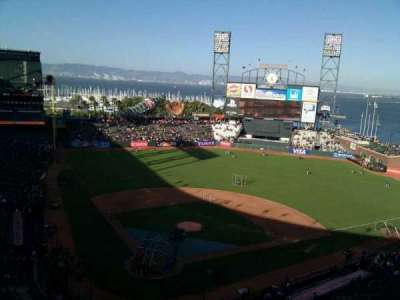 AT&T Park, section: 313, row: 6, seat: 10