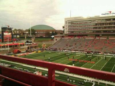 Maryland Stadium, section: 207, row: a, seat: 17