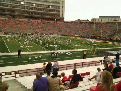 Maryland Stadium, section: 5, row: t, seat: 29
