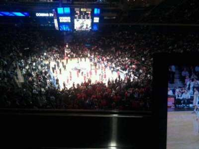 Madison Square Garden, section: 203, row: 1, seat: 4