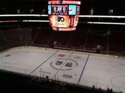 Wells Fargo Center section 215