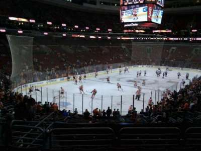 Wells Fargo Center section 121