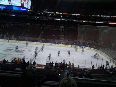 Wells Fargo Center section Club Box 2