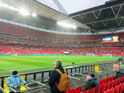 Wembley Stadium, section: 126, row: 6, seat: 110