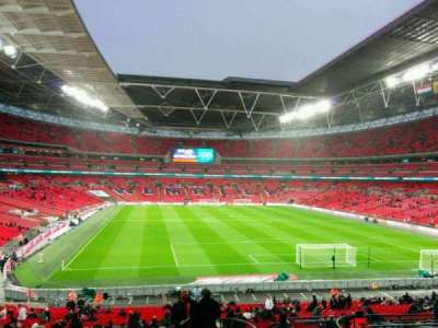 Wembley Stadium, section: 135, row: 42, seat: 50