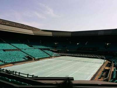 Wimbledon, Centre Court, section: 205, row: f, seat: 157
