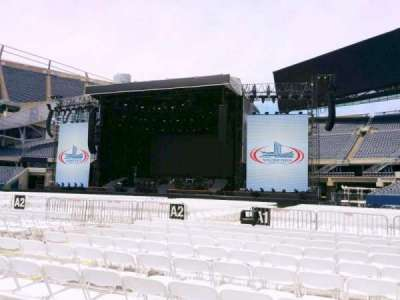 Soldier Field, section: b1, row: 11, seat: 11