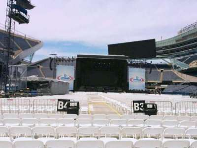 Soldier Field, section: c4, row: 7, seat: 12
