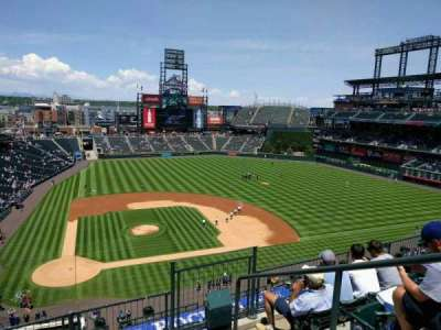 Coors Field, section: L325, row: 5, seat: 3