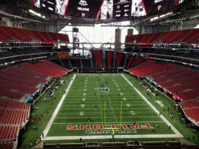 mercedes benz stadium section 326 home of atlanta
