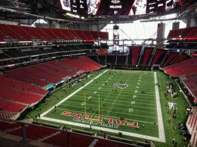 Mercedes Benz Stadium Section 324 Home Of Atlanta