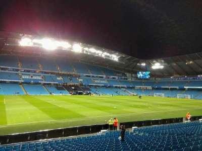 Etihad Stadium (Manchester), section: 109, row: t, seat: 214