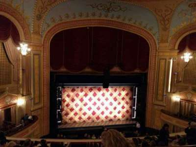 Forrest Theatre, section: rear mezz b, row: c, seat: 2