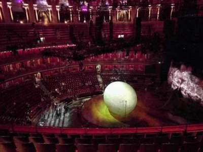 Royal Albert Hall, section: Circle W, row: 7, seat: 229