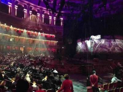 Royal Albert Hall, section: Stalls L, row: 8, seat: 94