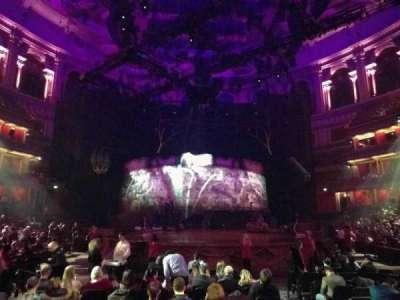 Royal Albert Hall, section: Stalls K, row: 5, seat: 64