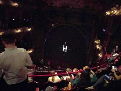 Palace Theatre (West End), section: Upper Circle, row: E, seat: 13