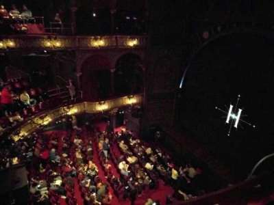 Palace Theatre (West End), section: Upper Circle, row: B, seat: 4