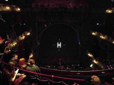Palace Theatre (West End), section: Upper Circle, row: E, seat: 25