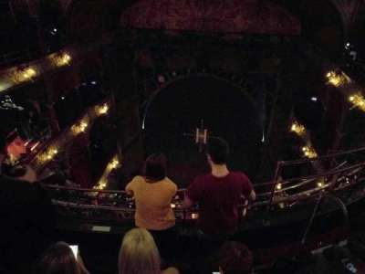 Palace Theatre (West End), section: balcony, row: d, seat: 10