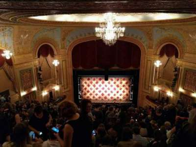 Forrest Theatre, section: Rear Mezzanine C, row: p, seat: 7