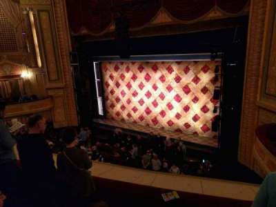 Forrest Theatre, section: Front Mezzanine D, row: F, seat: 16