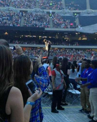 Soldier Field, section: B2, row: A