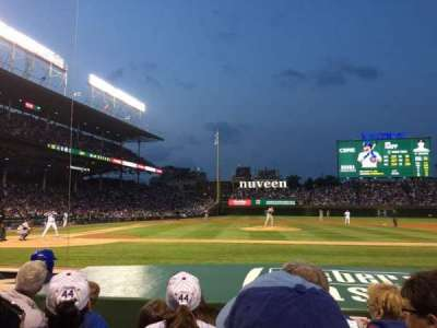 Wrigley Field, section: 27, row: 4, seat: 204