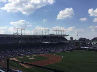 Wrigley Field, section: 438, row: 1, seat: 103