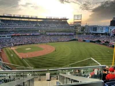 Nationals Park, section: 232, row: J, seat: 20