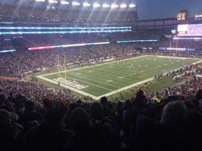 Gillette Stadium section 238