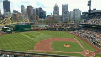 PNC Park, section: 322, row: G, seat: 13