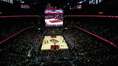 Quicken Loans Arena, section: 217, row: 2, seat: 4