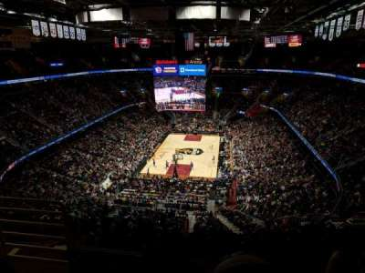 Quicken Loans Arena, section: 218, row: 9, seat: 2