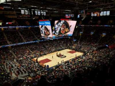 Quicken Loans Arena, section: 222, row: 5, seat: 4