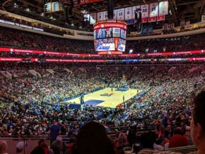 Wells Fargo Center section CC21