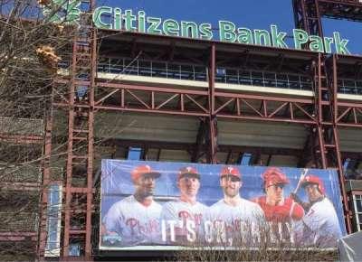 Citizens bank park  section EXTERIOR