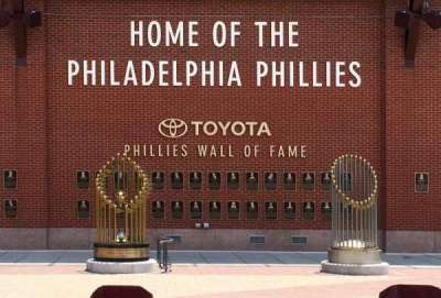 Citizens bank park  section WALL