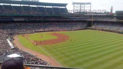 Turner Field, section: 425, row: 2, seat: 6