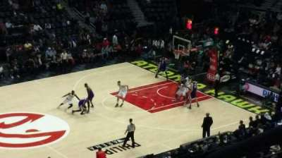 Philips Arena, section: 313, row: G, seat: 2