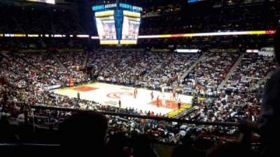 Philips Arena, section: 209, row: C, seat: 1