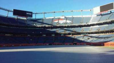 Sports Authority Field at Mile High, section: 129, row: 1