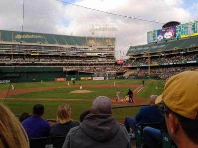 Oakland Alameda Coliseum, section: 119, row: 17, seat: 2