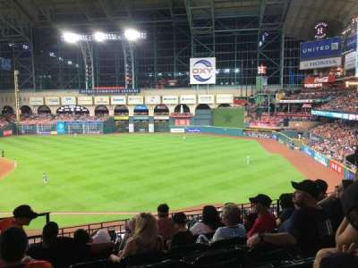 Minute Maid Park, section: 231, row: 6, seat: 2