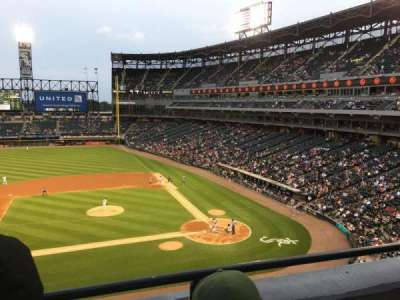 Guaranteed Rate Field, section: 338, row: 2, seat: 7