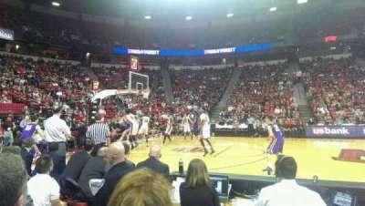 Thomas & Mack Center, section: 118, row: B, seat: 2