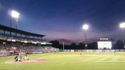 NBT Bank Stadium, section: 105, row: 3, seat: 1