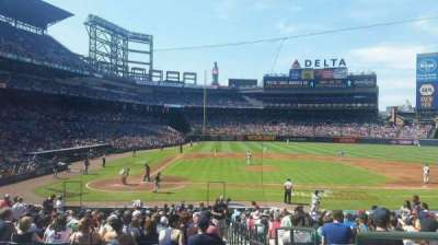 Turner Field, section: 107L, row: 24, seat: 101