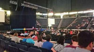 Times Union Center, section: 106, row: DD, seat: 1