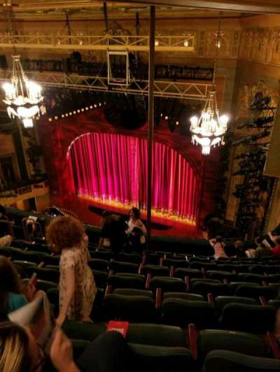 Shubert Theatre, section: Balcony Right, row: J, seat: 20